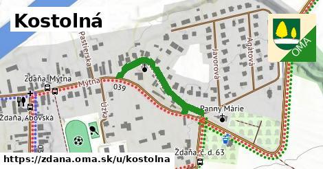 ilustrácia k Kostolná, Ždaňa - 280m