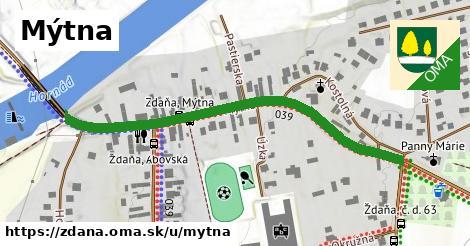 ilustrácia k Mýtna, Ždaňa - 568m