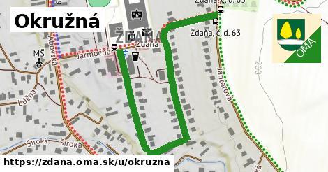 ilustrácia k Okružná, Ždaňa - 0,72km