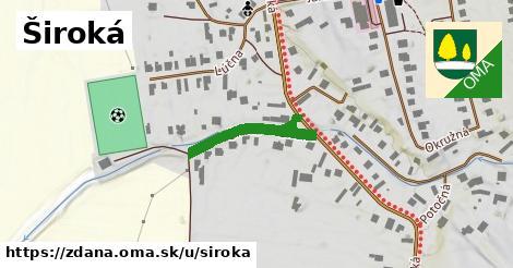 ilustrácia k Široká, Ždaňa - 233m