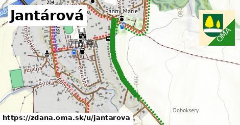 ilustrácia k Jantárová, Ždaňa - 548m