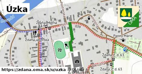 ilustrácia k Úzka, Ždaňa - 159m