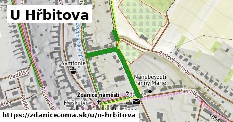 ilustrácia k U Hřbitova, Ždánice - 303m
