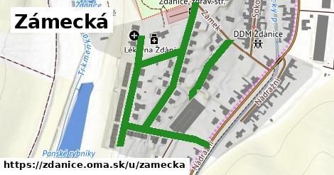 ilustrácia k Zámecká, Ždánice - 1,00km
