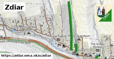 ilustrácia k Ždiar, Ždiar - 4,4km