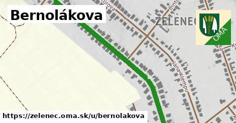 ilustrácia k Bernolákova, Zeleneč - 651m