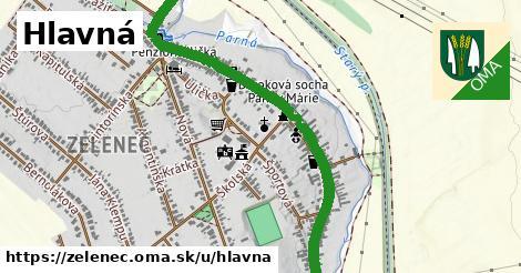 ilustrácia k Hlavná, Zeleneč - 1,60km
