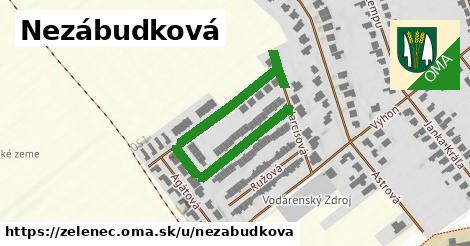 ilustrácia k Nezábudková, Zeleneč - 334m