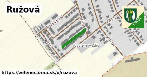 ilustrácia k Ružová, Zeleneč - 154m