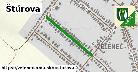 ilustrácia k Štúrova, Zeleneč - 330m