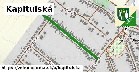 ilustrácia k Kapitulská, Zeleneč - 395m