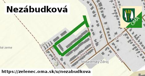 ilustrácia k Nezábudková, Zeleneč - 346m
