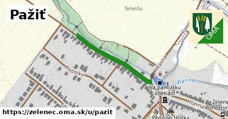 ilustrácia k Pažiť, Zeleneč - 302m