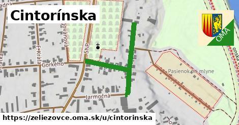 ilustrácia k Cintorínska, Želiezovce - 375m