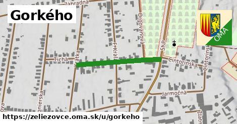 ilustrácia k Gorkého, Želiezovce - 274m
