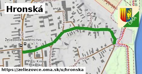 ilustrácia k Hronská, Želiezovce - 578m