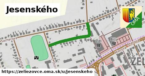 ilustrácia k Jesenského, Želiezovce - 280m