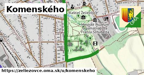 ilustrácia k Komenského, Želiezovce - 1,15km