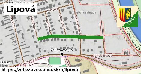 ilustrácia k Lipová, Želiezovce - 350m