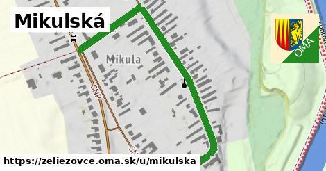 ilustrácia k Mikulská, Želiezovce - 0,71km