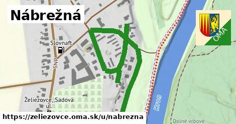 ilustrácia k Nábrežná, Želiezovce - 0,85km