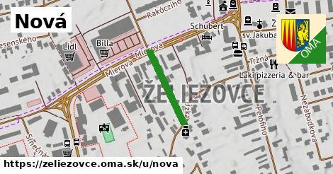 ilustračný obrázok k Nová, Želiezovce