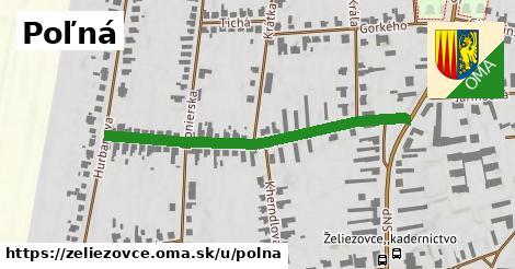 ilustrácia k Poľná, Želiezovce - 464m