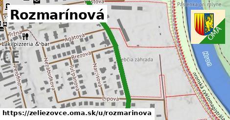 ilustrácia k Rozmarínová, Želiezovce - 449m