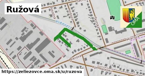 ilustrácia k Ružová, Želiezovce - 340m