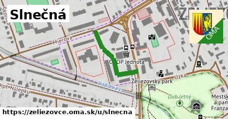ilustrácia k Slnečná, Želiezovce - 243m