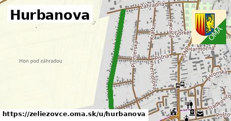 Hurbanova, Želiezovce