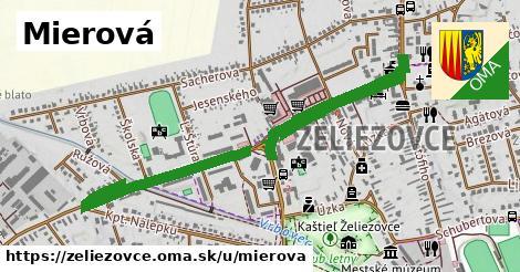 ilustrácia k Mierová, Želiezovce - 1,64km