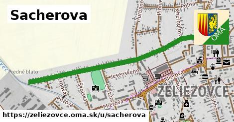 ilustrácia k Sacherova, Želiezovce - 1,19km