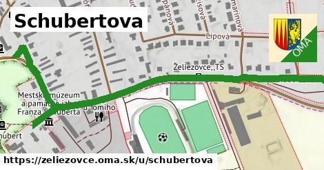 ilustrácia k Schubertova, Želiezovce - 0,97km