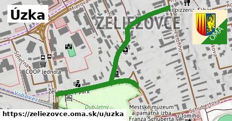 ilustrácia k Úzka, Želiezovce - 615m