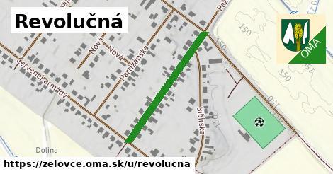 ilustrácia k Revolučná, Želovce - 305m