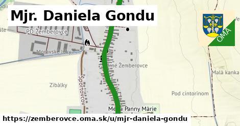 ilustračný obrázok k Mjr. Daniela Gondu, Žemberovce