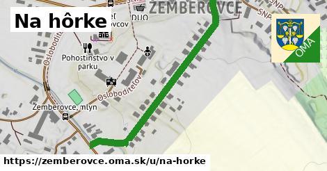 ilustrácia k Na Hôrke, Žemberovce - 503m