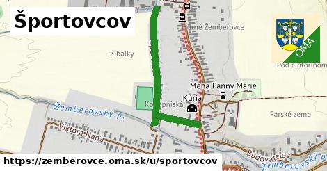 ilustrácia k Športovcov, Žemberovce - 0,76km