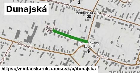 ilustrácia k Dunajská, Zemianska Olča - 201m