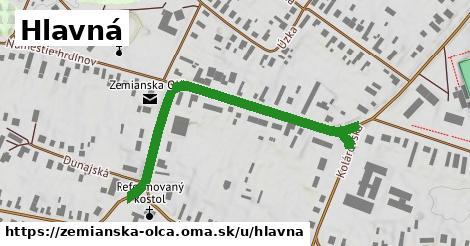 ilustrácia k Hlavná, Zemianska Olča - 499m