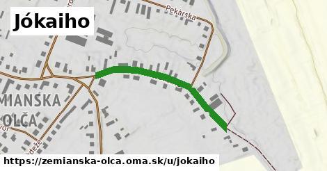 ilustrácia k Jókaiho, Zemianska Olča - 440m
