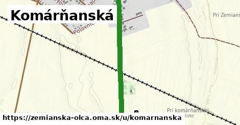 ilustrácia k Komárňanská, Zemianska Olča - 388m