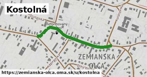 ilustrácia k Kostolná, Zemianska Olča - 426m
