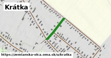 ilustrácia k Krátka, Zemianska Olča - 191m