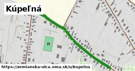 ilustrácia k Kúpeľná, Zemianska Olča - 608m