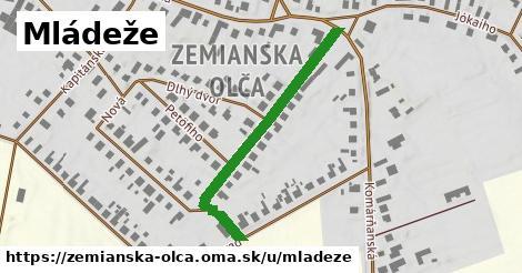 ilustrácia k Mládeže, Zemianska Olča - 398m