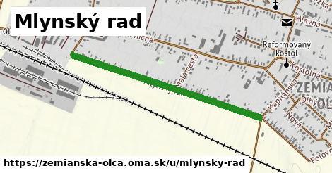 ilustrácia k Mlynský rad, Zemianska Olča - 0,91km