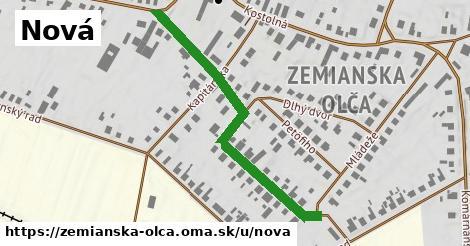 ilustračný obrázok k Nová, Zemianska Olča