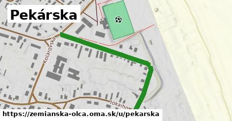 ilustrácia k Pekárska, Zemianska Olča - 467m